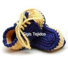 Resultado de imagen para zapatitos de bebe en crochet y cinta