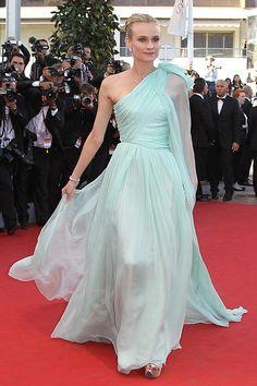 Diane Kruger in Giambattista Valli Alta Costura. Cannes 2012