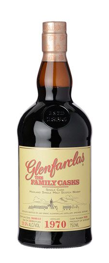 1970 Glenfarclas K&L Exclusive Single Barrel Cask Strength Single Malt Whisky 750ml