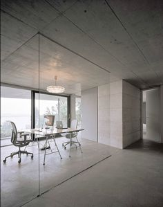 Untersee is a minimalist home designed by Germany-based architects, Biehler Weith Associated. #architecture