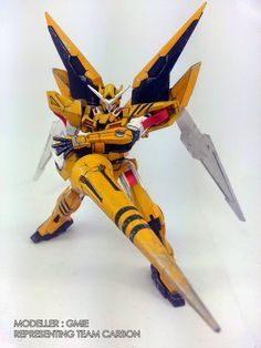 "Custom Build: HG 1/144 Gundam Exia ""GN Wasp"" - Gundam Kits Collection News and Reviews"
