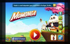 The new Startscreen of Momonga Pinball Adventures