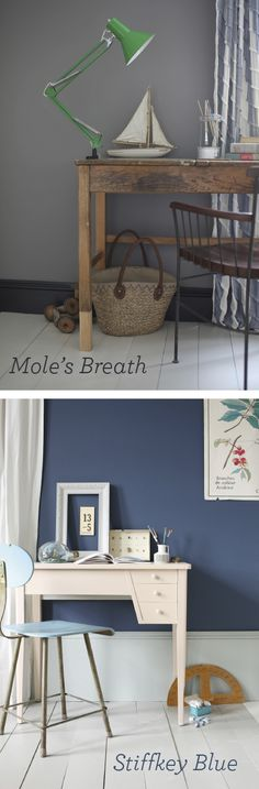 Farrow and Ball's Moles Breath (is someone paid to come up with these paint names!?!). A perfect dark, if you are a little scared of a dark grey or black.