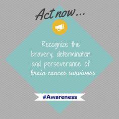 It's #BrainTumorThursday! Raise awareness today and everyday. #BTSM #BrainCancerAwareness