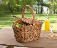 Picknickkorb jetzt für 32,00 € kaufen im Frank Flechtwaren und Deko Online Shop
