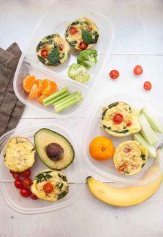 High Protein Breakfast Egg Muffin Meal Prep - Meal Prep on Fleek™