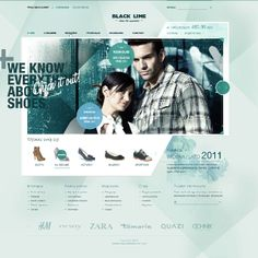 Web Design by russfussuk on DeviantArt Fashion Web Design, Web Ui Design, Graphic Design, Design Digital, Digital Web, Digital Media, E Commerce, Well Designed Websites, Graphic Projects