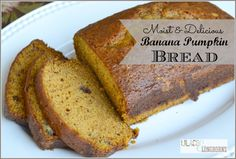 delicious banana pumpkin bread