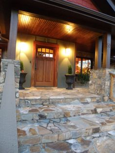 mountain home entryway