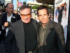 Ben Stiller Remembers Robin Williams, His Idol, Friend and Co-Star Christine Taylor, Queens Of Comedy, Physical Comedy, Ben Stiller, Robin Williams, Man Humor, Best Actor, Popular Culture, Famous Faces
