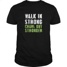 Walk In Strong Crawl Out Stronger Great Gift For Any Gym Fan Fitness Lover Lifting - #long #sweatshirts for men. PURCHASE NOW => https://www.sunfrog.com/Fitness/Walk-In-Strong-Crawl-Out-Stronger-Great-Gift-For-Any-Gym-Fan-Fitness-Lover-Lifting-Black-Guys.html?id=60505