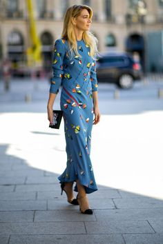 The Parisian Street Style at Couture Fashion Week Will Make Your Heart Flutter Street Style Chic, Street Style Looks, Looks Style, Style Couture, Couture Week, Haute Couture Fashion, Fashion Week, Look Fashion, Fashion Outfits