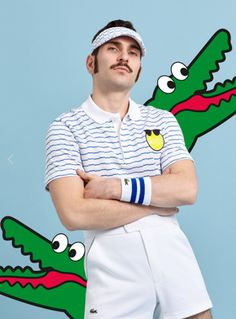 Lacoste x Yazbukey collaboration #sporty #outfit #menswear #tennis