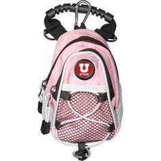 Utah Utes NCAA Mini Day Pack Pink