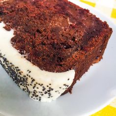 Chocolate and Beetroot cake @ Curious Yellow Kafé, London | Breakfast & Brunch Coffeeshop