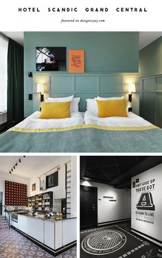 Hotel Scandic Grand Central Stockholm featured on Design is Yay!