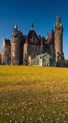 Moszna Castle, Poland What would you like to know about the #Polish #unemployment #rate? www.companyincorp...