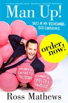 Awesome Book!!  I read it so quick & wish it was longer!  Man Up! by Ross Mathews via My Next Thirty Years