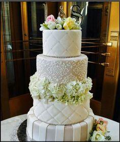 Real Flower on Cake