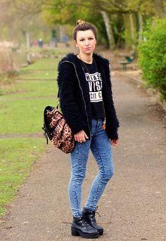 Get this look: http://lb.nu/look/6044063  More looks by Agata P: http://lb.nu/agatap  Items in this look:  Nowistyle Backpack, Primark Jeans, Boots, Sheinside Coat, Romwe Sweatshirt