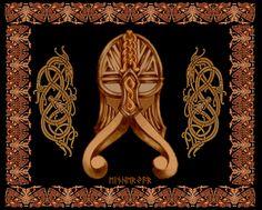 EINHERJER... Warrior of Odin. Another viking spirited collage by Rasmus.