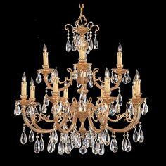 Calypso Twelve-Light Chandelier | Magnolia Hall
