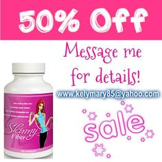 You can order at http://kelymary.SkinnyFiberPlus.com  Reply here @kelymary85 or email me for the 50% off deal! kelymary85@yahoo.com