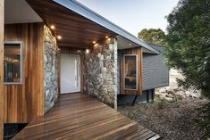 Warragul House by Maxa Design #Australia #shedplans Shed Plans, Home Office, Garage Doors, Australia, Outdoor Structures, House Design, Contemporary, Architecture, Interior