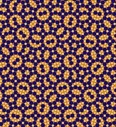 Socolar tiling. Pattern block pieces!