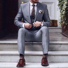 Fashion, stylish mens fashion, fashion guide, best suits for men, cool suit Stylish Mens Fashion, Gents Fashion, Mens Fashion Suits, Mens Suits, Man Fashion, Style Fashion, Fashion Guide, Fashion 2018, Fashion Trends