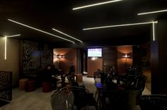 Proyecto de iluminación bar. #iluminacion #taraluxiluminacion
