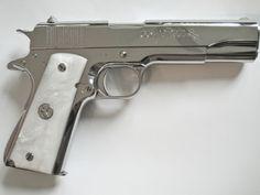 Colt Pistols and Revolvers for Firearms Collectors - Gun of the Month - June 2008 Weapons Guns, Airsoft Guns, Guns And Ammo, Engraved 1911, Henry Rifles, Custom Guns, Military Guns, Firearms, Hand Guns