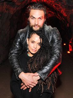Star Tracks: Tuesday, February 25, 2014 | ROAD TO LOVE | Jason Momoa wraps his arms around wife Lisa Bonet at the premiere screening of their SundanceTV series The Red Road on Monday in Los Angeles.
