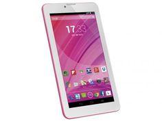 """Tablet Multilaser M7 8GB 7"""" 3G Wi-Fi Android - Proc. Quad Core Câmera Integrada com as melhores condições você encontra no Magazine Jsantos. Confira!"""
