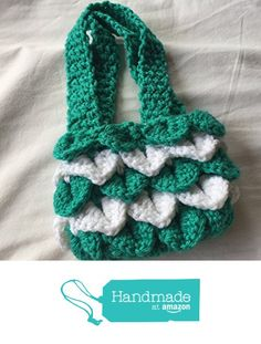 Jade Green and White Striped Dragon Scales Kids Cellphone Tote 4x6 https://www.amazon.com/dp/B06VXBSSZG/ref=hnd_sw_r_pi_dp_E6qQyb43K462D #handmadeatamazon