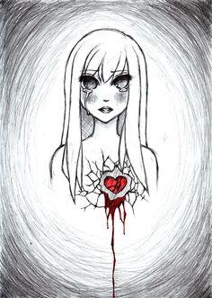 broken girl  | Broken Heart by ~cocky-chan on deviantART