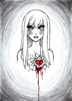 broken girl  | Broken Heart by ~cocky-chan on deviantART