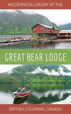A wildlife-watching stay at the Great Bear Lodge in British Columbia, Canada – a luxury escape in the wilderness among the grizzly bears of the Great Bear Rainforest. Whistler, Calgary, The Places Youll Go, Places To Visit, Visit Canada, Victoria, Vancouver Island, Vacation Spots, Couples Vacation