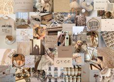 aesthetic laptop cream collage beige nude ios brown ipad wallpapers