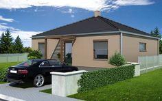 Návrh rodinného domu Square od APEX ARCH s.r.o. Shed, Outdoor Structures, Barns, Sheds