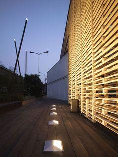 Facade Lighting, Cool Lighting, Exterior Lighting, Modern Lighting, Outdoor  Lighting, Architectural