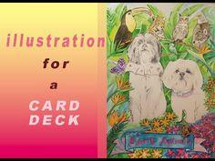 Illustration for a deck of cards Deck Of Cards, Illustration, Artwork, Work Of Art, Auguste Rodin Artwork, Artworks, Illustrations, Illustrators