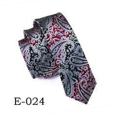 2017 Fashion Skinny Ties Gravata Slim Ties 6cm Jacquard Woven Silk Ties for Men's Wedding Suit Skinny Cravatte Corbatas