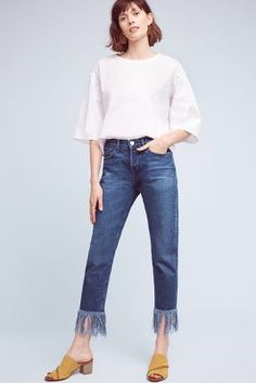 Anthropologie 3x1 NYC WM3 High-Rise Straight Cropped Fringe Jeans https://www.anthropologie.com/shop/3x1-nyc-wm3-high-rise-straight-cropped-fringe-jeans3?cm_mmc=userselection-_-product-_-share-_-4122058740003