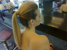 Αλογοουρα μοϊκαν / Moikan ponytail