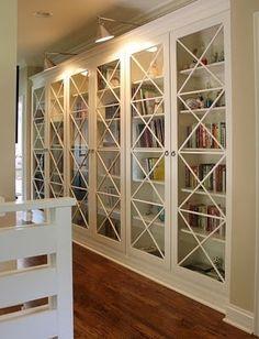 gorgeous bookshelves
