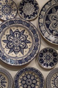 hand painted plates / photo by escehatom
