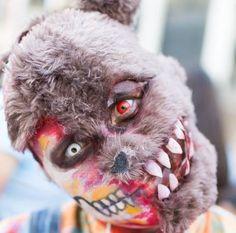 teddy bear zombie