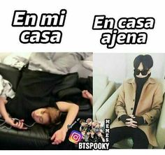 Read from the story MEMES DE BTS 2 by Ktxebae (𝐮𝐰𝐮) with reads. Exo Memes, Bts And Exo, Kpop, I Love Bts, Bulletproof Boy Scouts, Foto Bts, Bts Pictures, Bts Suga, Funny Images