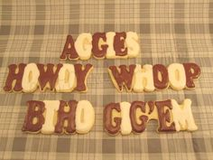 Game Day Aggie Sugar Cookies.  I am a licensed crafter for Texas A&M University.  These cookie cutters were designed by Sweet Charley Confections and special ordered and printed with a 3D printer by www.trulymadplastics.com  (wish my photo was better quality!)  https://www.facebook.com/sweetcharleyconfections